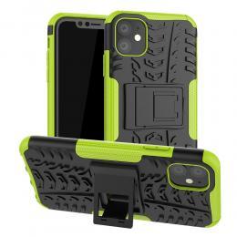 iPhone 11 - Ultimata stöttåliga skalet med stöd - Grön - Teknikhallen.se