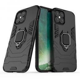 iPhone 12 Pro Max - Hybrid Ring Skal - Svart - Teknikhallen.se