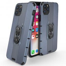 iPhone 11 - Ring Skal - Funkar med magnethållare - Mörk Blå - Teknikhallen.se