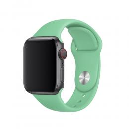 Silikon Armband Apple Watch 40/38 mm (S/M) - Grön - Teknikhallen.se