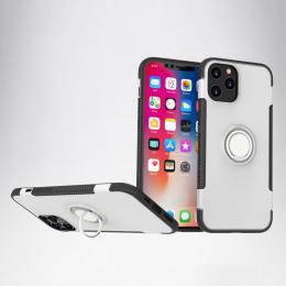 iPhone 12 Pro Max - Ring Skal - Silver - Teknikhallen.se