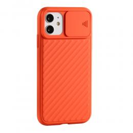 iPhone 11 - CamShield Skal - Orange - Teknikhallen.se
