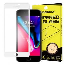 Wozinsky iPhone 7/8/SE (2020) - Wozinsky Heltäckande Skärmskydd - Vit - Teknikhallen.se