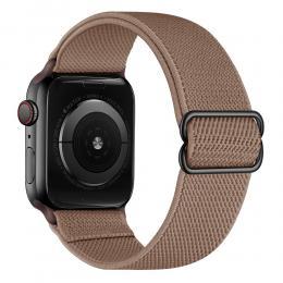 Nylon Armband Justerbart Apple Watch 40/38 mm - Brun - Teknikhallen.se
