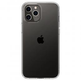 Spigen iPhone 12 Pro Max - Spigen Liquid Crystal Clear Skal - Teknikhallen.se