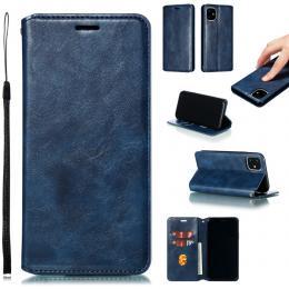 iPhone 11 - Plånboksfodral - Blå - Teknikhallen.se