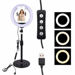 TikTok LED Selfie-Lampa med Stativ - Teknikhallen.se