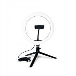 TikTok Dimbar LED Selfie-Lampa med Stativ - Teknikhallen.se