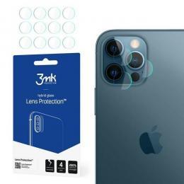 3MK iPhone 12 Pro - 4-PACK 3MK Linsskydd I Härdat Glas - Teknikhallen.se
