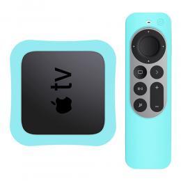 Apple TV 4K 2021 Silikonskal För Kontroll  Box - Grön - Teknikhallen.se