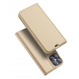 DUX DUCIS iPhone 12 Pro Max - DUX DUCIS Skin Pro Fodral - Guld - Teknikhallen.se