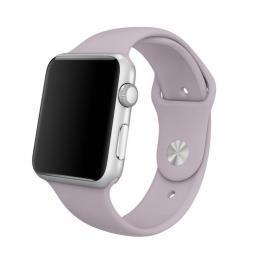 Silikon Armband Apple Watch 40/38 mm (S/M) - Ljus Lila - Teknikhallen.se