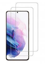 2-Pack Samsung Galaxy S21 Plus - Skärmskydd i Härdat Glas - Teknikhallen.se