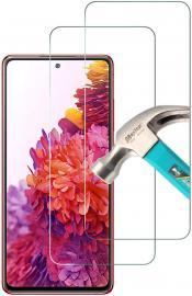 2-Pack Samsung Galaxy S20 FE - Skärmskydd i Härdat Glas - Teknikhallen.se