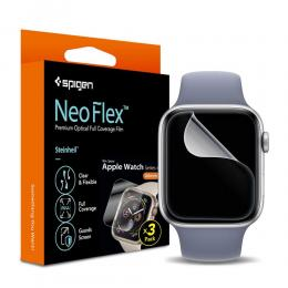 Spigen Spigen Neo Flex HD Skärmskydd - Apple Watch 4/5/6 (44 mm) - Teknikhallen.se