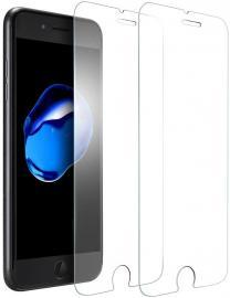 2-Pack - iPhone 6/7/8/SE (2020) - Härdat Glas Skärmskydd - Teknikhallen.se