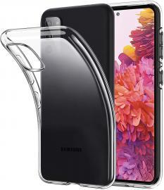 Samsung Galaxy S20 FE - Transparent TPU Skal - Teknikhallen.se
