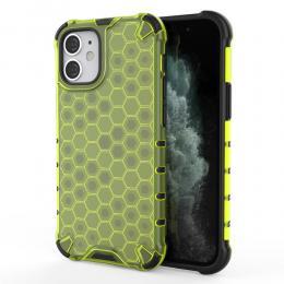 iPhone 12 Mini - Armor Honeycomb Textur - Grön - Teknikhallen.se