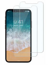 2-Pack iPhone 11 Pro/X/Xs härdat glas - Teknikhallen.se
