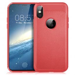 iPhone X/Xs - IVSO Gentry serie Skal - Röd - Teknikhallen.se