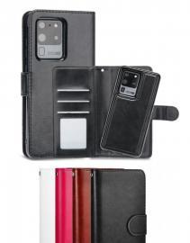 Samsung Galaxy S21 - Plånboksfodral / Magnet Skal 2 in 1 - Välj Färg! - Teknikhallen.se