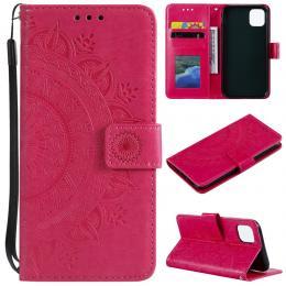 iPhone 11 - Plånboksfodral Mandala - Rosa - Teknikhallen.se