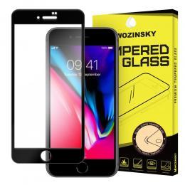 Wozinsky iPhone 7/8/SE (2020) - Wozinsky Heltäckande Skärmskydd - Svart - Teknikhallen.se