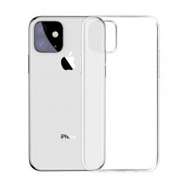 iPhone 11 - BASEUS TPU Skal - Transparent - Teknikhallen.se