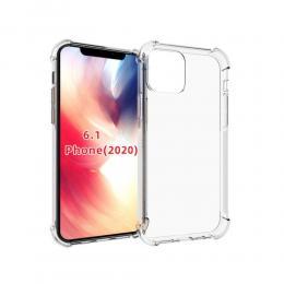 iPhone 12 / 12 Pro - Shockproof Transparent TPU - Teknikhallen.se