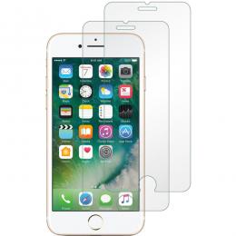 2-Pack härdat glas för iPhone 7/8/SE (2020) - Teknikhallen.se