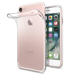 iPhone 7/8/SE (2020) - Transparent TPU - Teknikhallen.se