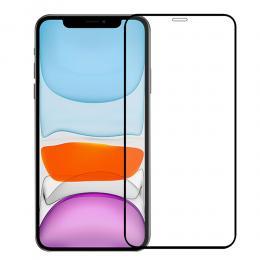 iPhone 12 Pro Max - Premium Heltäckande Skärmskydd I Härdat Glas - Teknikhallen.se