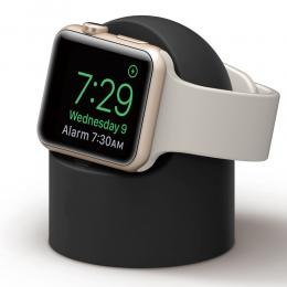 Apple Watch Silikon Stativ - Svart - Teknikhallen.se