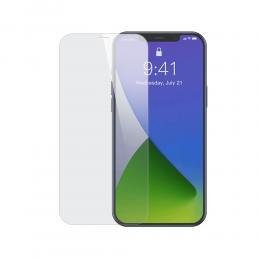BASEUS iPhone 12 / 12 Pro - Baseus 2-PACK Skärmskydd I Härdat Glas - Teknikhallen.se