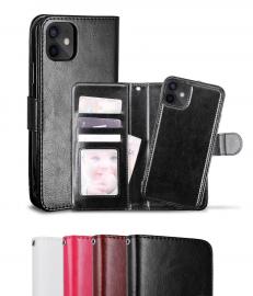 iPhone 12 Mini - Fodral / Magnet Skal 2in1 - Välj Färg! - Teknikhallen.se