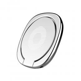 BASEUS BASEUS Ring Hållare funkar med Magnethållare - Silver - Teknikhallen.se