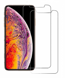 2-Pack härdat glas för iPhone Xs Max - Teknikhallen.se