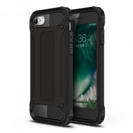 iPhone 7/8/SE (2020) - Armor Hybrid Skal - Svart - Teknikhallen.se