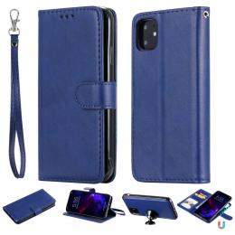 iPhone 11 - Plånboksfodral/Magnet Skal 2in1 - Mörk Blå - Teknikhallen.se