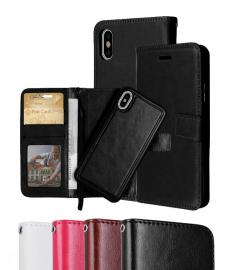 iPhone XR - Plånboksfodral / Magnet Skal 2 in 1 - Välj Färg! - Teknikhallen.se